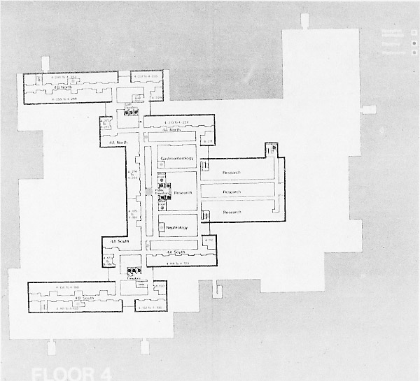 Early days of medicine at memorial university for Floor plans health care facilities