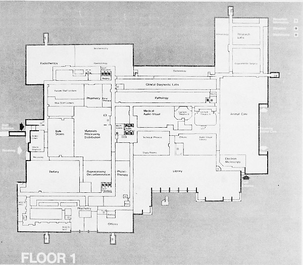 Health Sciences Centre Map Early Days of Medicine at Memorial University Health Sciences Centre Map